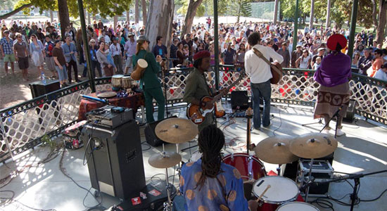 de waal park concerts